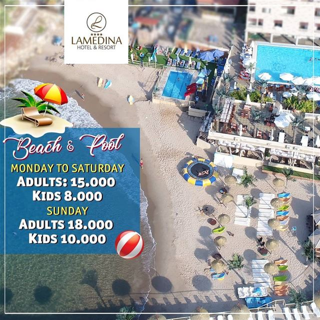 Wear your  sunglasses and flip-flops...carry your  beach bag.....put your ... (Lamedina Hotel, Beach Club & Resort)